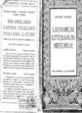 vocabolario latino - italiano italiano -latino