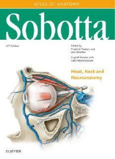 Sobotta Atlas of Anatomy Head, Neck and Neuroanatomy