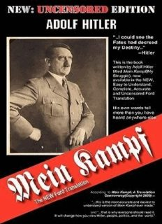 Mein Kampf [The New Ford Translation]