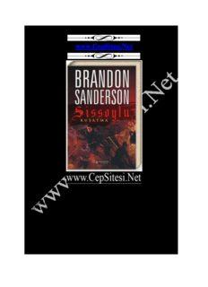 Brandon Sanderson - Kuşatma Sissoylu 2 www.CepSitesi.Net
