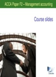ACCA Paper F2 Management accounting - Free ebook