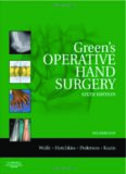 Green's Operative Hand Surgery, 6th Edition