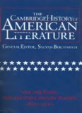 The Cambridge History of American Literature, Vol. 4