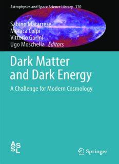 Dark Matter and Dark Energy: A Challenge for Modern Cosmology