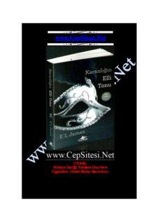 EL James - Karanlığın Elli Tonu www.CepSitesi.Net