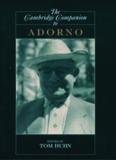 The Cambridge Companion to Adorno