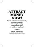 AttrAct Money now! - Joe Vitale and Steve G. Jones' Wealth