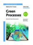 Handbook of Green Chemistry. Green Processes. Volume 8: Green Nanoscience