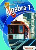 California algebra 1: concepts, skills, and problem solving