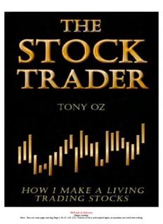 Tony Oz - How I Make A Living Trading Stocks.pdf