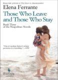 Those Who Leave and Those Who Stay [Neapolitan Novels #3]