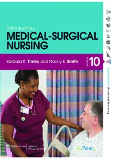 Introductory Medical-Surgical Nursing, 10th Edition (Lippincott's Practical Nursing)