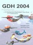 Gdh 2004: Proceedings of the Third International Symposium on the Gerasimov-drell-hearn Sum Rule And Its Extensions