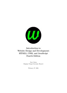 HTML5, CSS3, and JavaScript Fourth Edition
