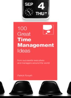 100 Great Time Management Ideas (100 Great Ideas)