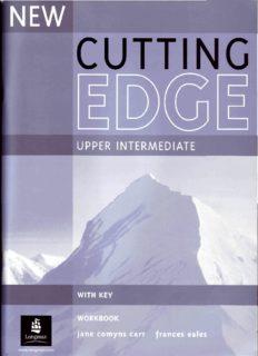Cutting Edge. Upper Intermediate Workbook with Key. New Edition