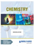 Organic Chemistry - Bansal Classes