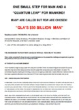 """QLA'S $50 BILLION MAN"" - Dan Pena"