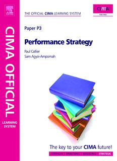 CIMA P3 Performance Strategy