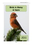 Birds in Moray & Nairn 2011 - Birds in Moray and Nairn