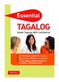 Essential Tagalog. Speak Tagalog with Confidence