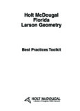 Holt McDougal Florida Larson Geometry