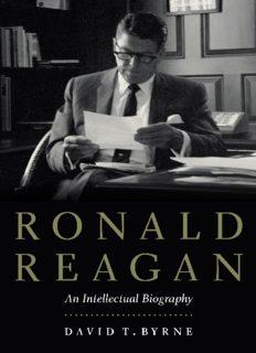 Ronald Reagan: An Intellectual Biography