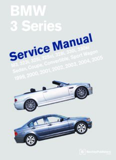 BMW 3 Series Service Manual (E46).pdf