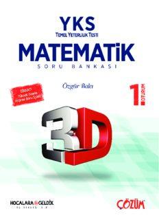 3D YKS Matematik Soru Bankası 1. Oturum Çözümleri