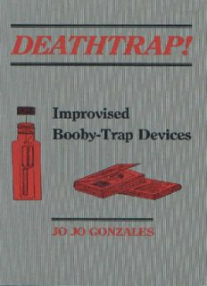 Improvised Booby Trap Devices by Jo