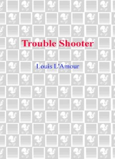 Trouble Shooter: Hopalong Cassidy Series