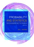 Probability and Statistics for Engineering and the Sciences 9th Ed