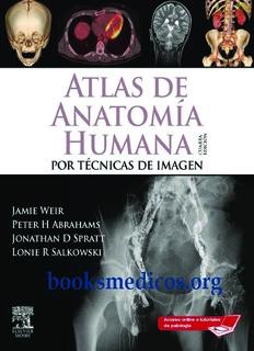 Atlas de Anatomia Humana por tecnicas de imagen Weir