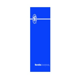 Basic Text, Narcotics Anonymous