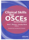 Clinical Skills for OSCEs,