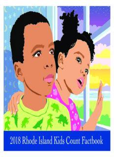 2018 Rhode Island Kids Count Factbook 2018 Rhode Island Kids Count Factbook