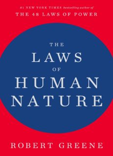 The law of human nature Book by Robert Greene