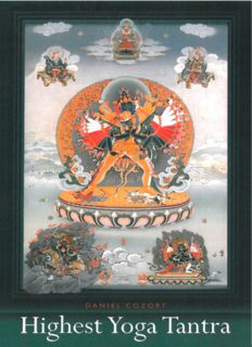 Highest Yoga Tantra: An Introduction to the Esoteric Buddhism of Tibet