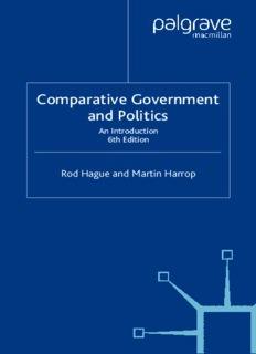 Comparative Government and Politics, 6th Edition (Comparative Government & Polit)