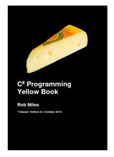C # Programming Yellow Book Rob Miles