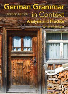 German Grammar in Context, Second Edition (Languages in Context) (German Edition)