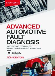 Advanced Automotive Fault Diagnosis.  Automotive Technology.  Vehicle Maintenance and Repair