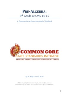 Math Grade 8 Textbook