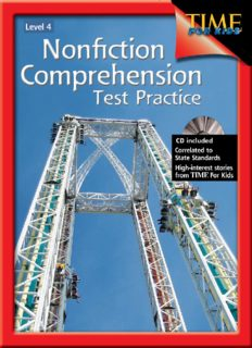 Nonfiction Comprehension Test Practice Gr. 4 (Nonfiction Resources with Content from Time for Kids)