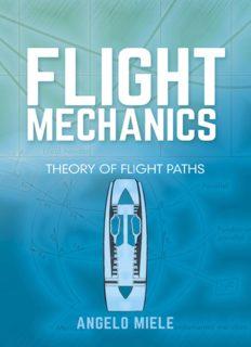 Flight Mechanics: Theory of Flight Paths