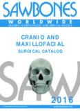 CRANIO AND MAXILLOFACIAL SURGICAL CATALOG - Sawbones