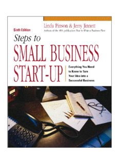 Steps to Small Business Start-Up: Everything You Need to Know to Turn Your Idea into a Successful Business