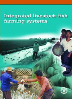 Integrated livestock-fish farming systems Integrated livestock-fish farming systems