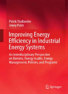 Improving Energy Efficiency in Industrial Energy Systems: An Interdisciplinary Perspective on Barriers, Energy Audits, Energy Management, Policies, and Programs