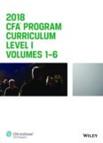 CFA Program Curriculum 2018 Level I Volumes 1-6 Box Set